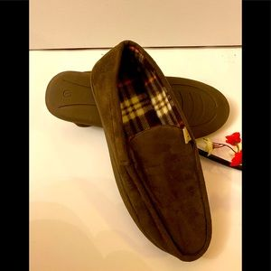 Unbranded  Moccasin Slippers Brown Size: large